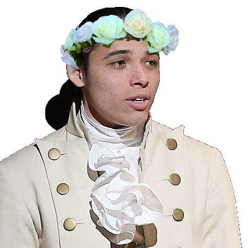 John Laurens Flower Boy by awakenclothing
