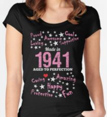Made In 1941 - Aged To Perfection Women's Fitted Scoop T-Shirt