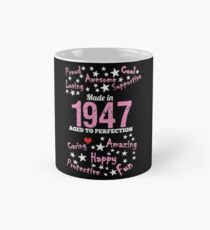 Made In 1947 - Aged To Perfection Mug