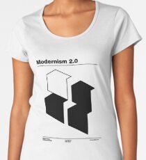 Modernism 2.0 (b) Women's Premium T-Shirt
