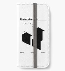 Modernism 2.0 (b) iPhone Wallet/Case/Skin