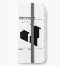 Modernism 2.0 (b) iPhone Wallet/Case/Skin