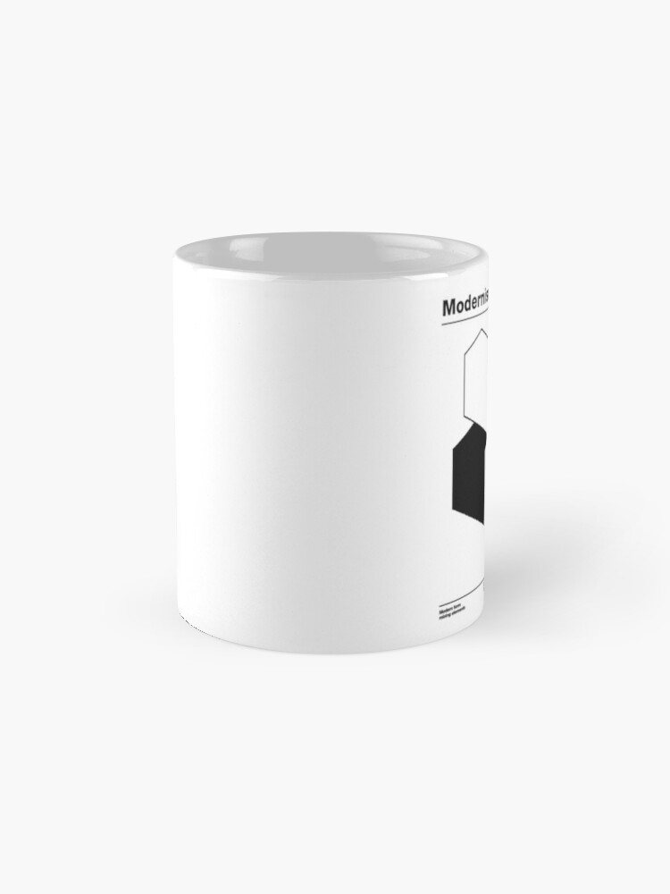 Alternate view of Modernism 2.0 (b) Mug
