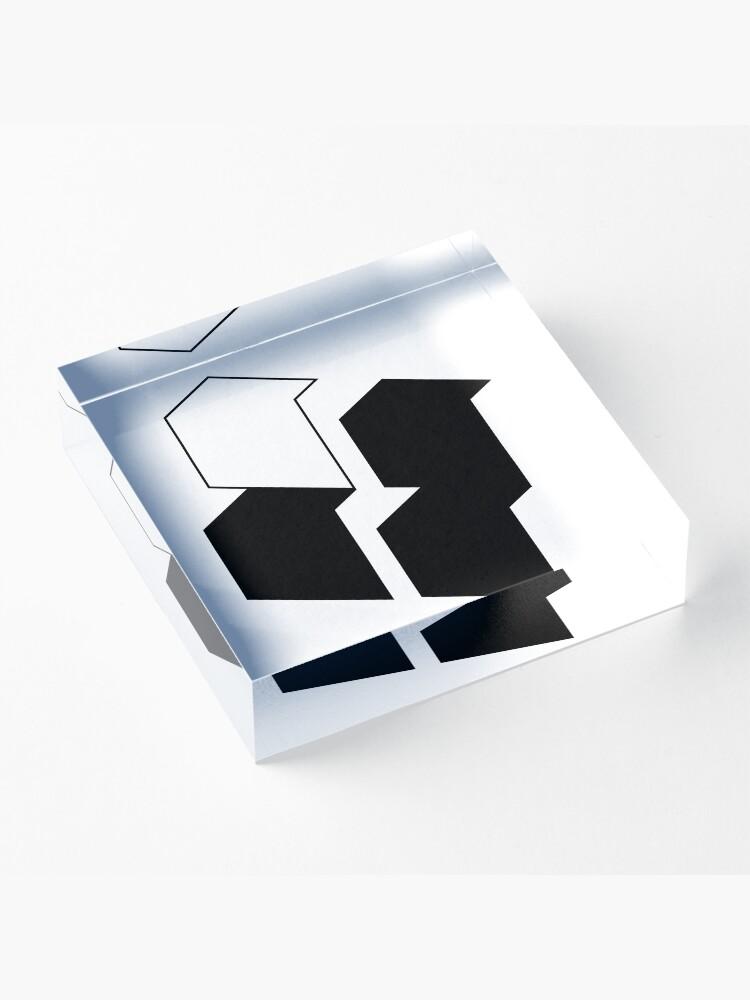 Alternate view of Modernism 2.0 (b) Acrylic Block