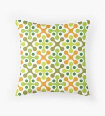 Retro 60s Pattern 1 Throw Pillow