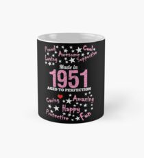 Made In 1951 - Aged To Perfection Mug