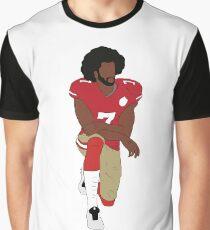 Colin Kaepernick Kneeling  Graphic T-Shirt