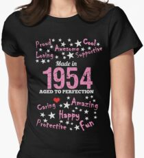 Made In 1954 - Aged To Perfection Women's Fitted T-Shirt
