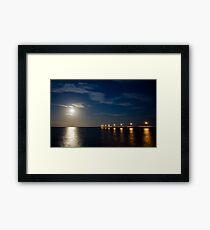 Tranquil Moonlight Framed Print