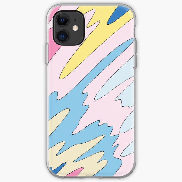 Pastel sky by Elebea iPhone Soft Case