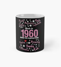 Made In 1960 - Aged To Perfection Mug