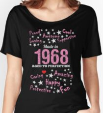 Made In 1968 - Aged To Perfection Women's Relaxed Fit T-Shirt