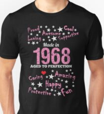 Made In 1968 - Aged To Perfection Slim Fit T-Shirt