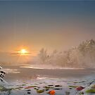 Christmas Sunset by Igor Zenin