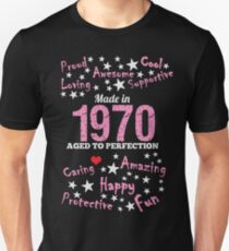 Made In 1970 - Aged To Perfection Unisex T-Shirt