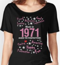 Made In 1971 - Aged To Perfection Women's Relaxed Fit T-Shirt