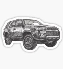 Toyota 4Runner TRD Pro (SW No. 1) Sticker