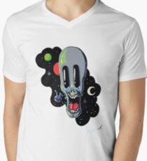 Outer Space Tears Men's V-Neck T-Shirt