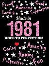 Made In 1981 - Aged To Perfection by wantneedlove