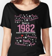 Made In 1982 - Aged To Perfection Women's Relaxed Fit T-Shirt