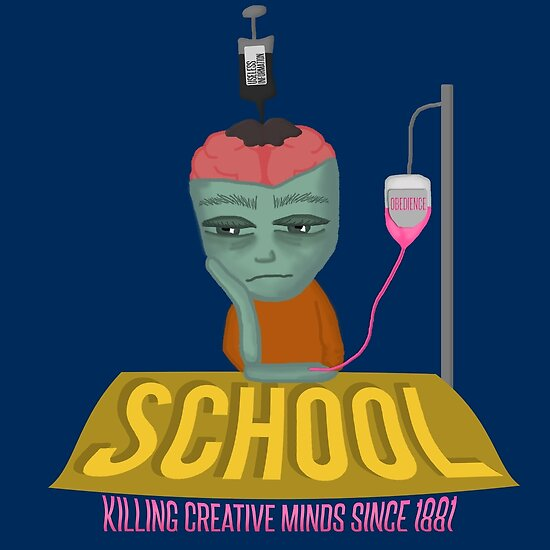 school killing creativity
