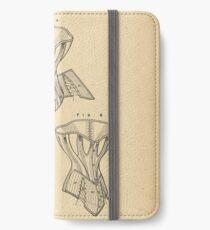 1879 Patent Corset iPhone Wallet/Case/Skin