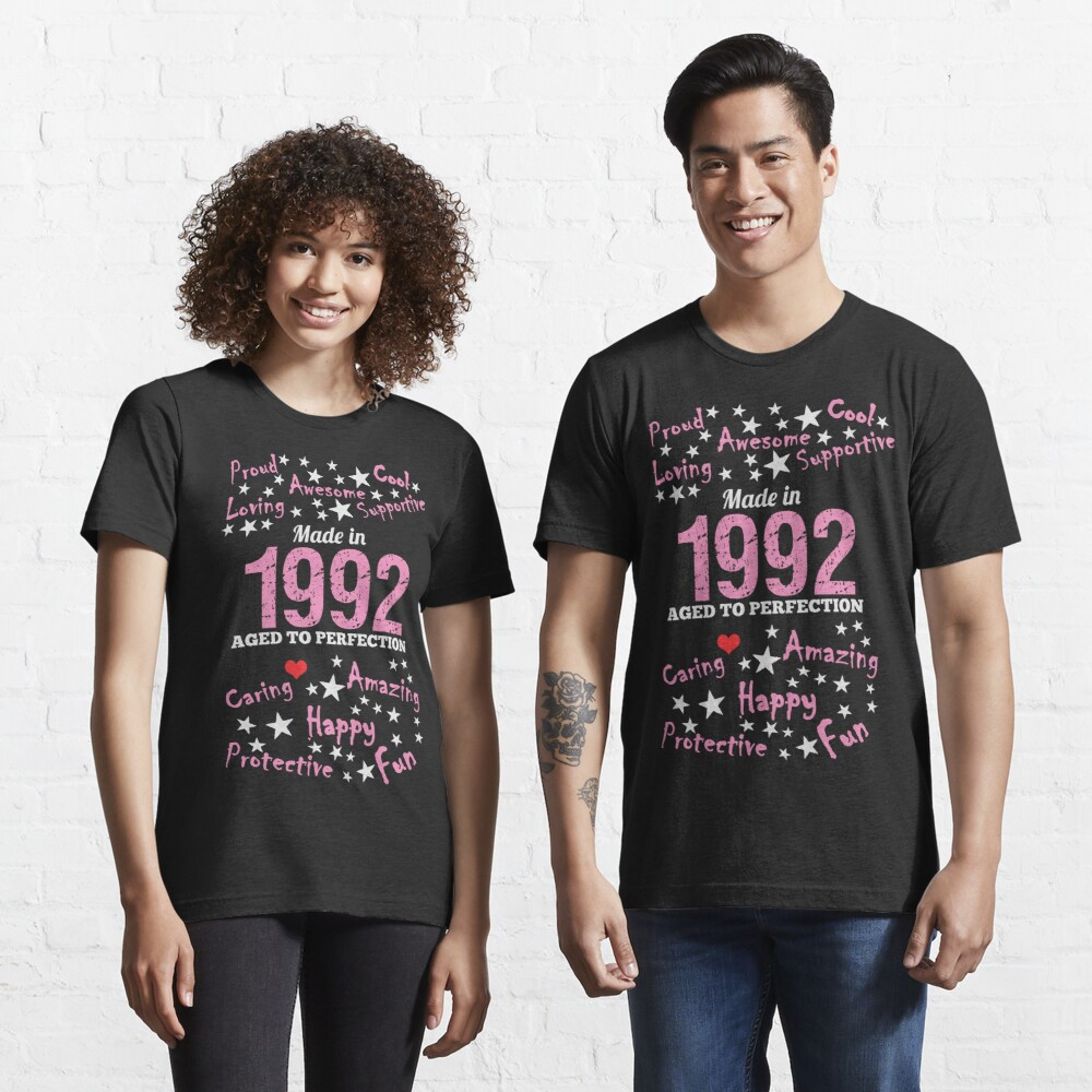 Made In 1992 - Age To Perfection Essential T-Shirt