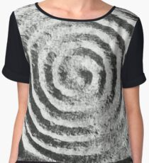 Spiral: Oldest Symbol in the World Chiffon Top