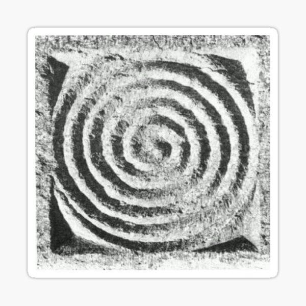Spiral: Oldest Symbol in the World  Sticker
