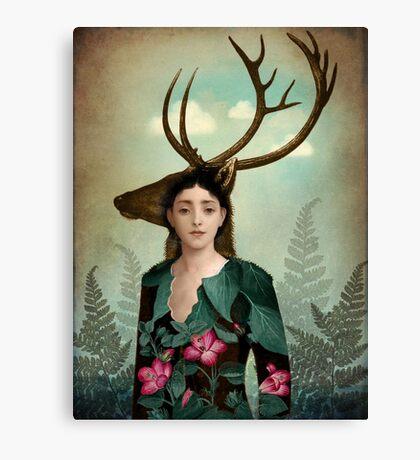Forest Warrior Canvas Print