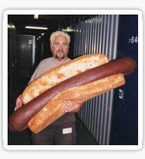 Guy Fieri Hotdog Sticker