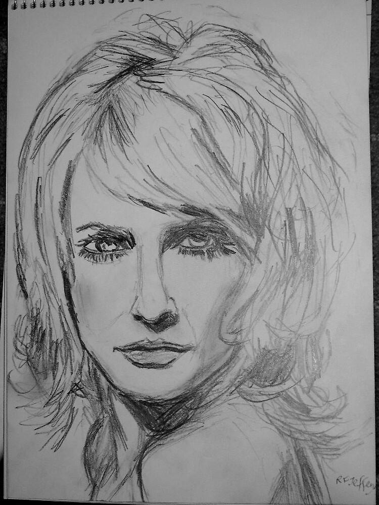 Sketch of a Woman by Rosanna Jeffery