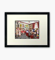 The Diner Framed Print