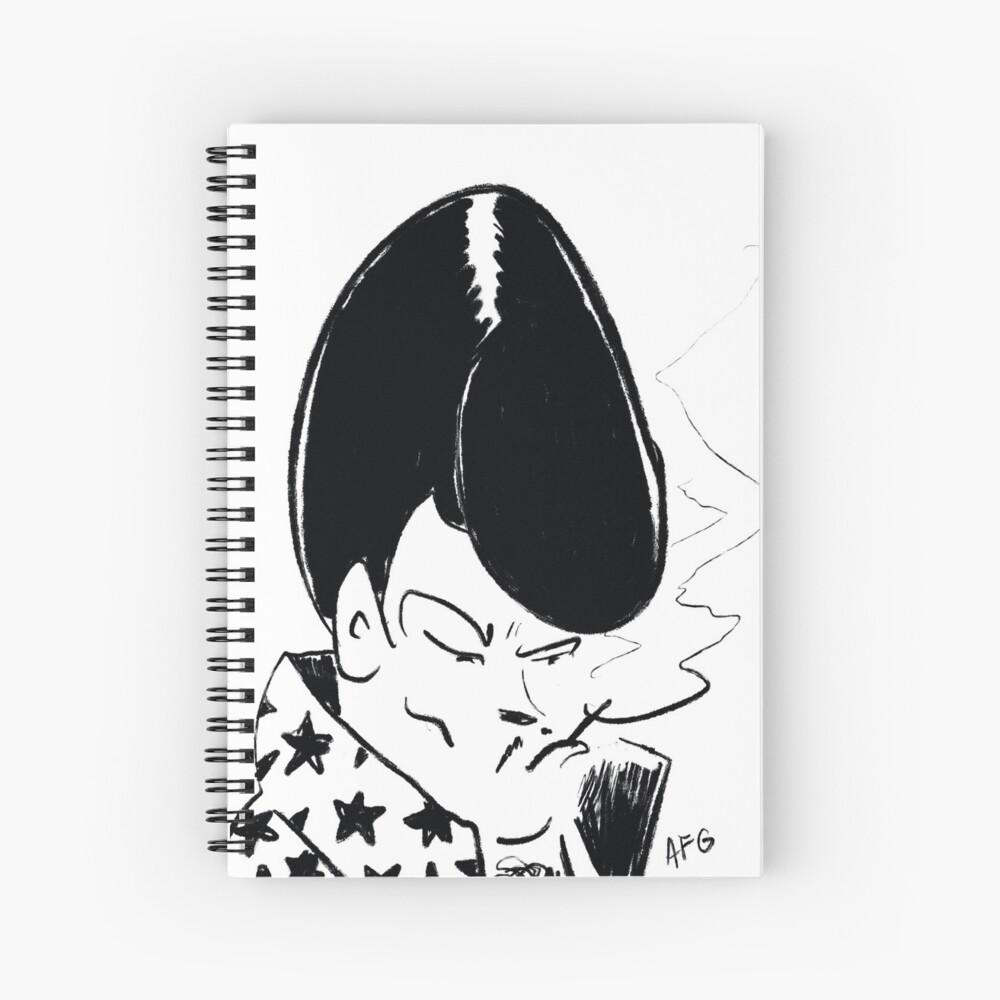 Spanish Las Vegas Lounge Singer Spiral Notebook