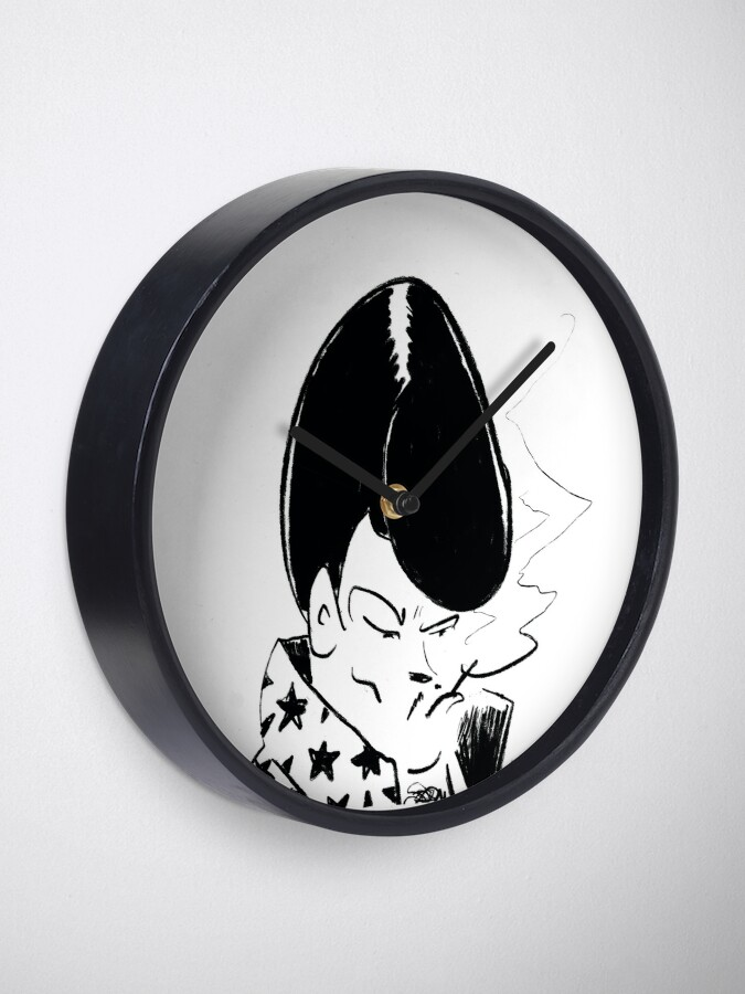 Alternate view of Spanish Las Vegas Lounge Singer Clock