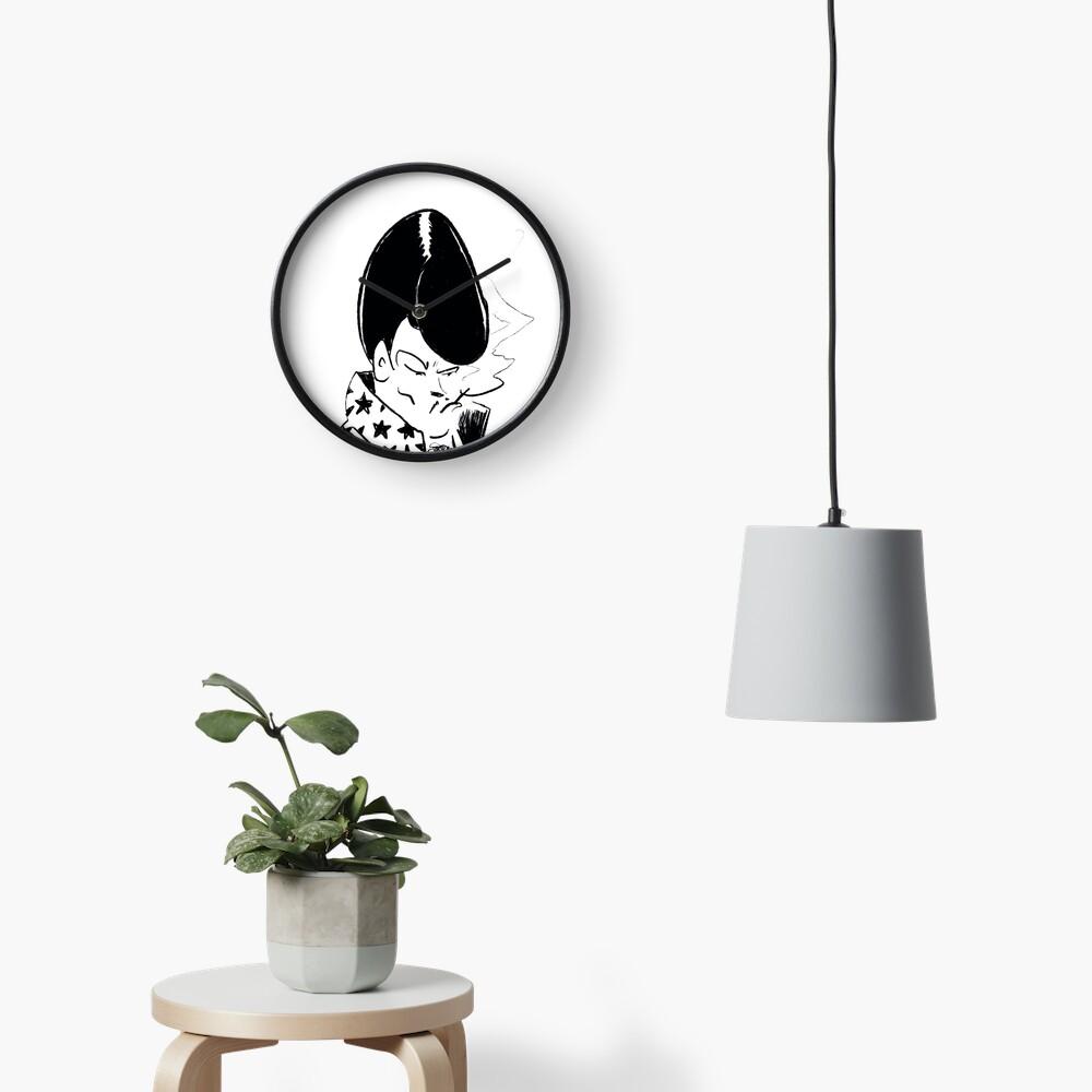 Spanish Las Vegas Lounge Singer Clock