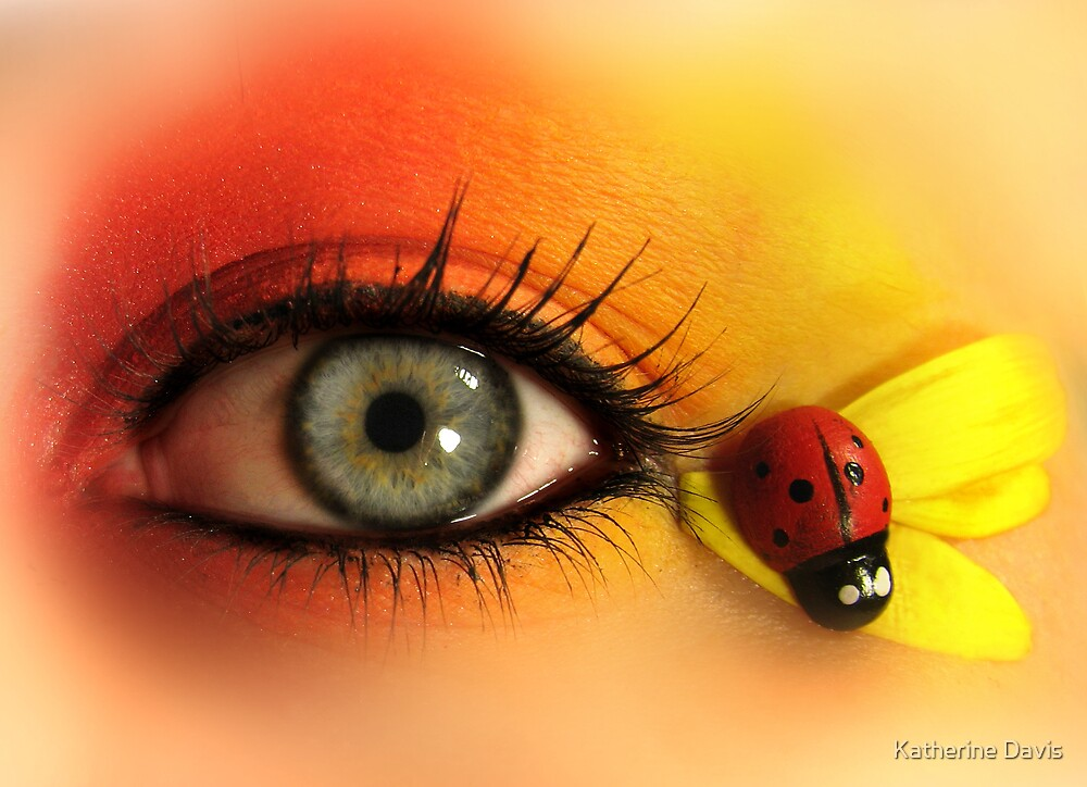 Ladybug Eye by Katherine Davis