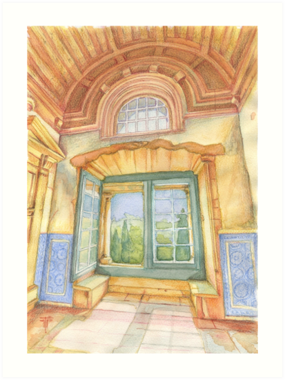 Janela do Convento de Cristo. Tomar. by terezadelpilar ~ art & architecture
