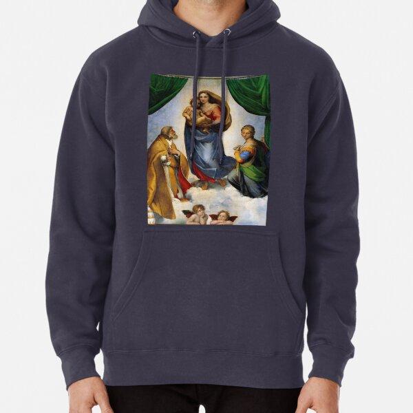 Raphael Sistine Madonna Pullover Hoodie