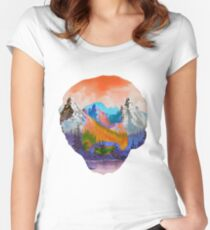 Bob Ross Women's Fitted Scoop T-Shirt