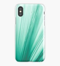 Green optic fiber iPhone Case/Skin