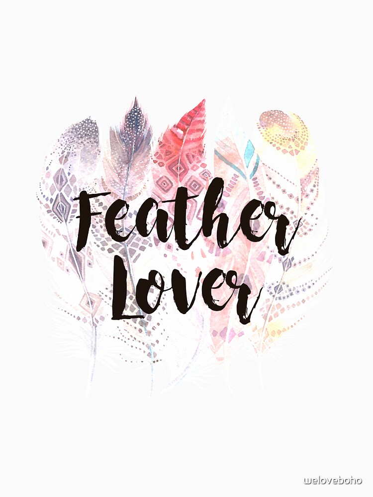 Feather Lover de weloveboho