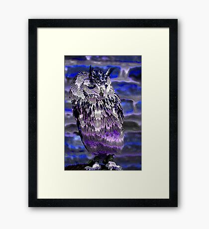 Eagle Owl Framed Print