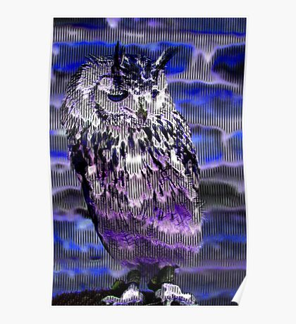 Eagle Owl Poster