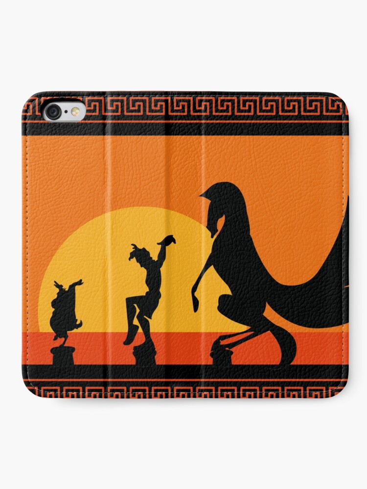 Alternative Ansicht von Herkules-Sonnenuntergang iPhone Flip-Case