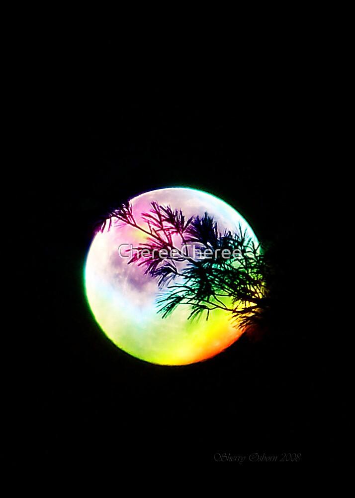 Rainbow Moon by ChereeCheree