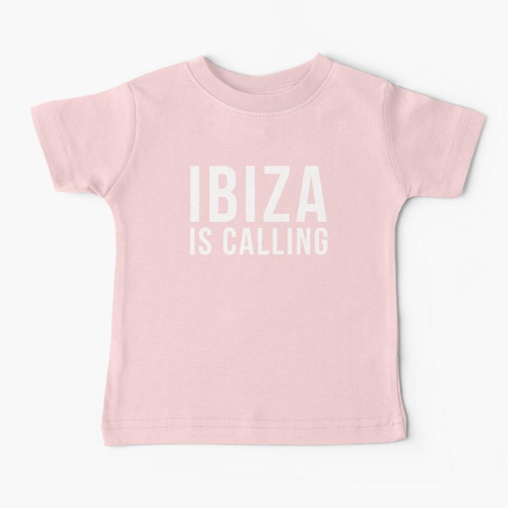Ibiza Is Calling 2 Music Quote Baby T-Shirt