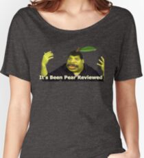 It's been pear reviewed! Women's Relaxed Fit T-Shirt