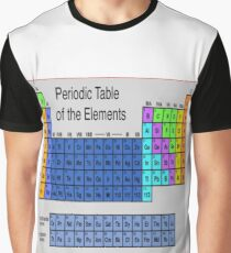 Periodic table of elements graphic t shirts redbubble periodic table of the elements graphic t shirt urtaz Image collections