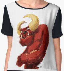 Demon Chiffon Top